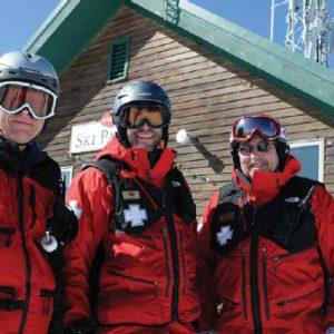 Stratton Mountain Skipatrolers