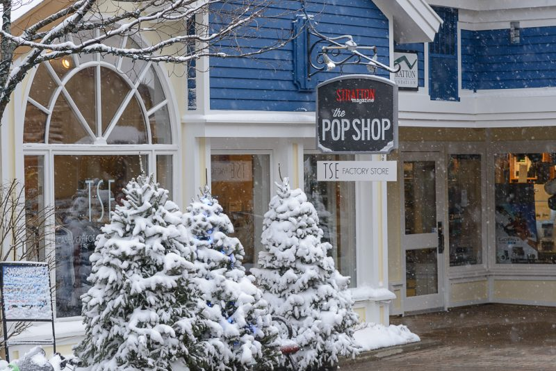 stratton pop up shop