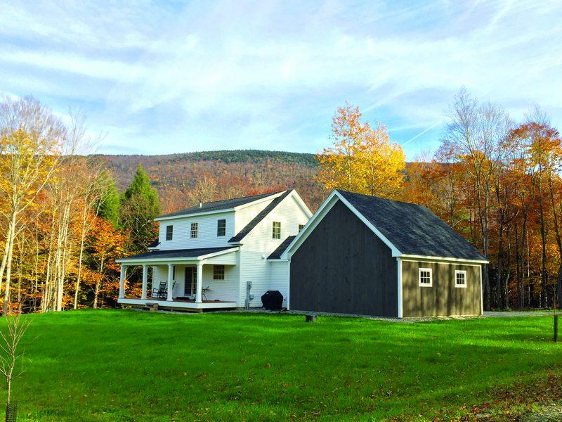 home built by pete conrad construction