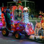 Manchester Holiday Lighted Tractor Parade 2016