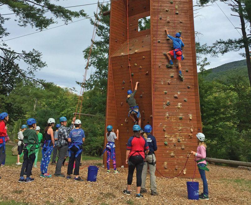 dorset climbing wall