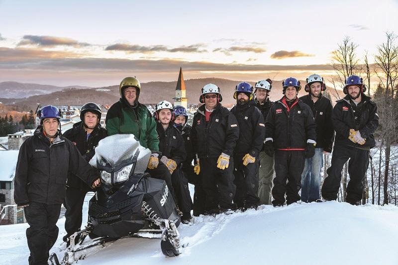 stratton snowmaking team