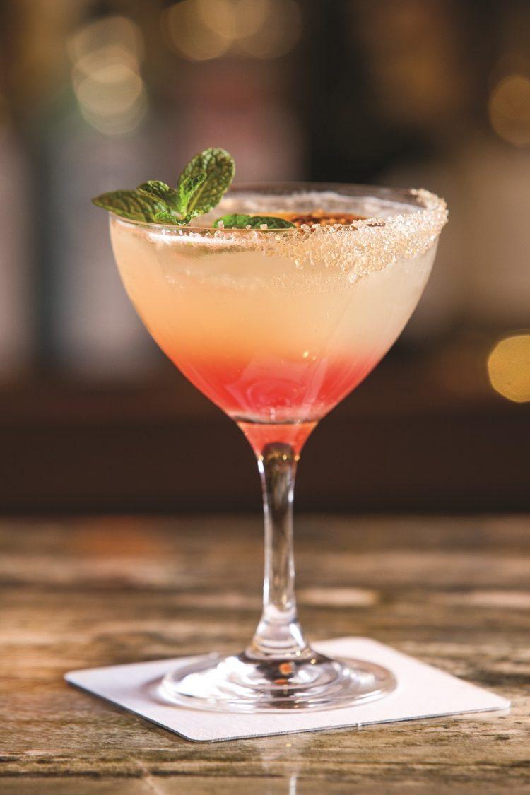 lillet garden cocktail