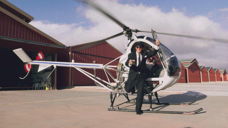 robert davi helicopter