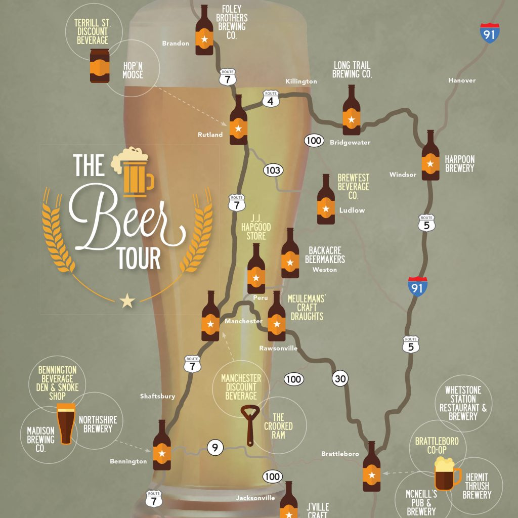 vermont beer tasting tour