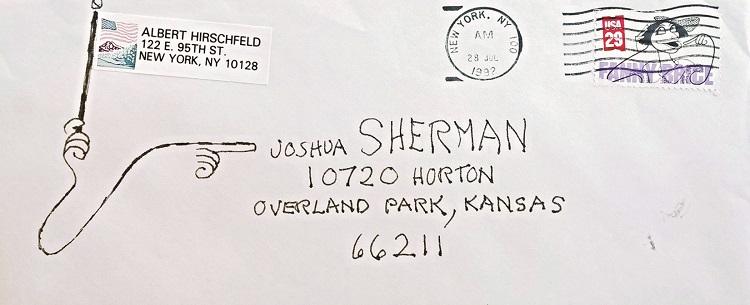 al hirschfeld envelope