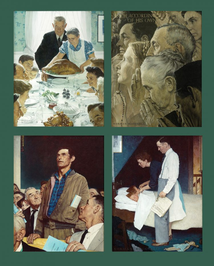 four freedoms norman rockwell