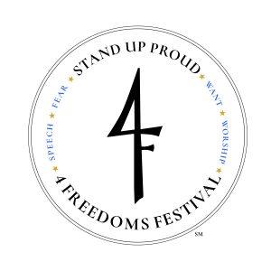 4 freedoms festival logo