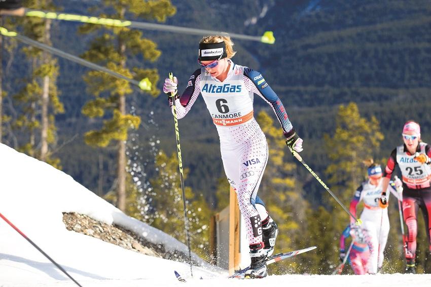 jessie diggins world cup skiathon