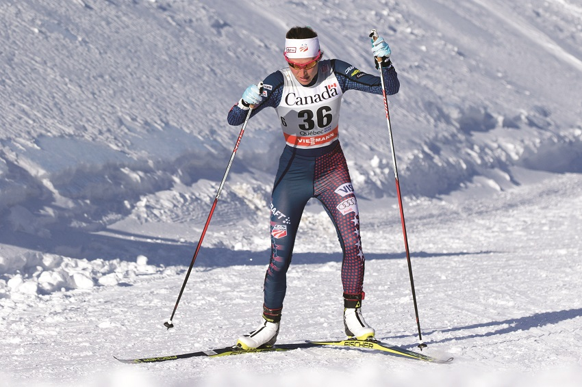 sophie caldwell cross country skiing