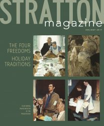 stratton magazine holiday 2017 cover
