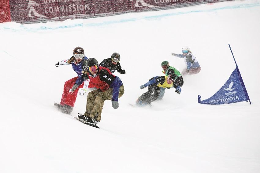 Lindsey Jacobellis Toyota U.S. Grand Prix- Snowboardcross