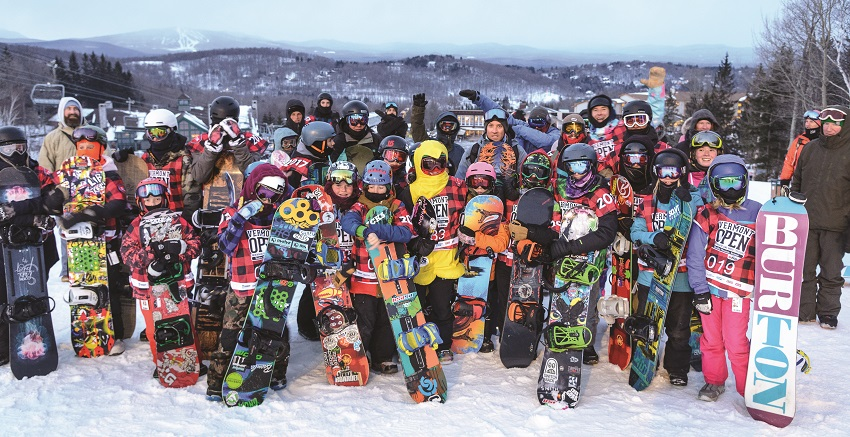 ross powers and young snowboarders