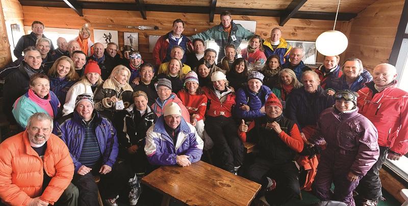 1970s club reunion ski