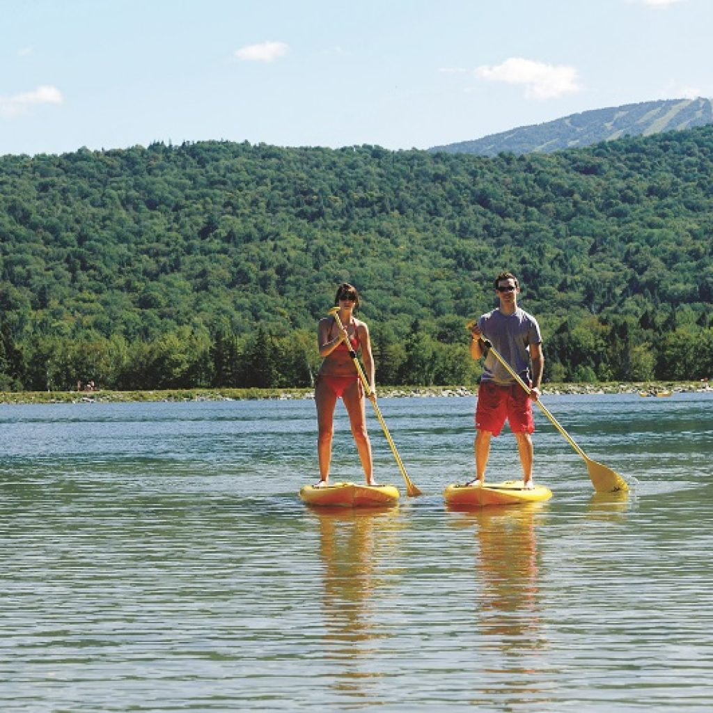 paddleboarding in vermont