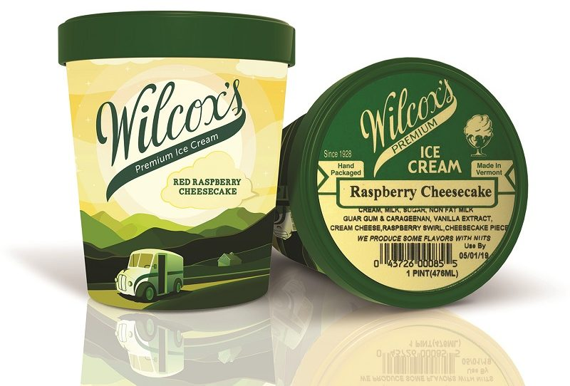 Wilcox ice cream container