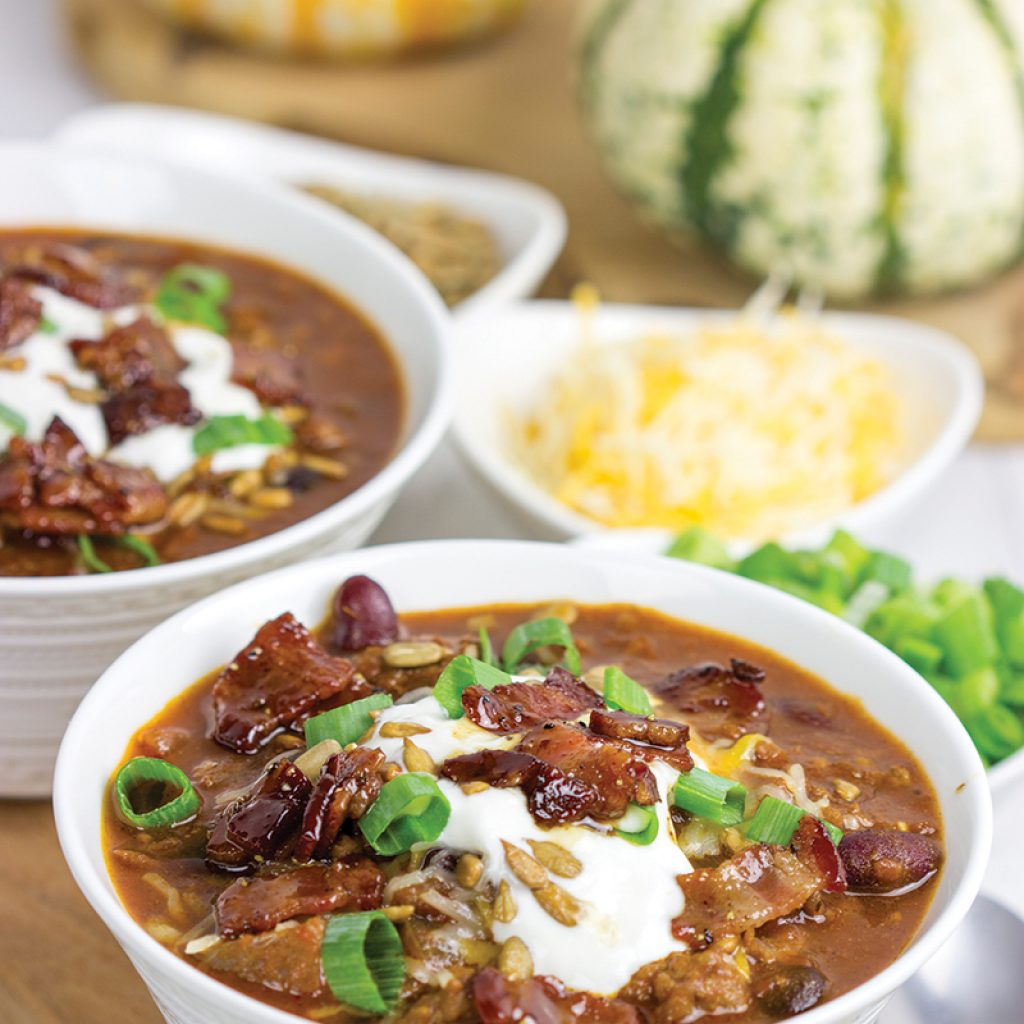maple bacon chili
