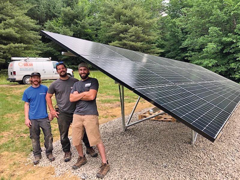 solar panel arlington vermont
