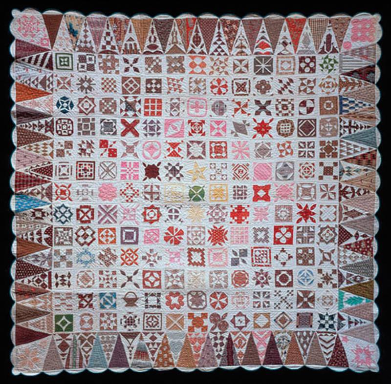Jane Stickle sampler quilt