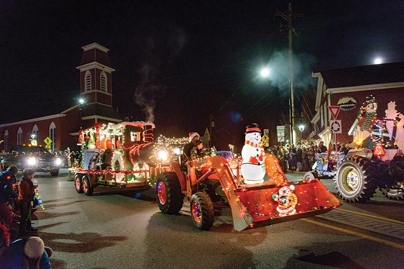 merriment tractor parade