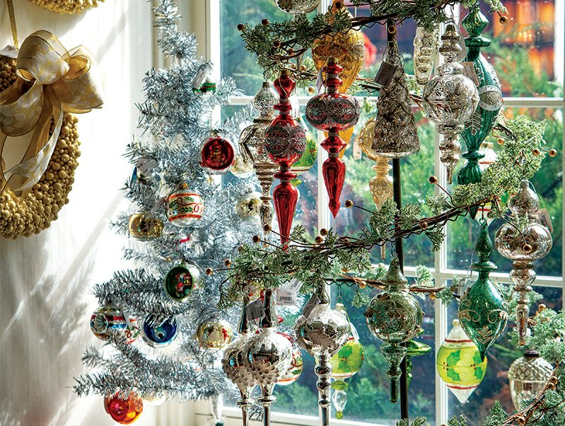 christmas tree at christmas days store