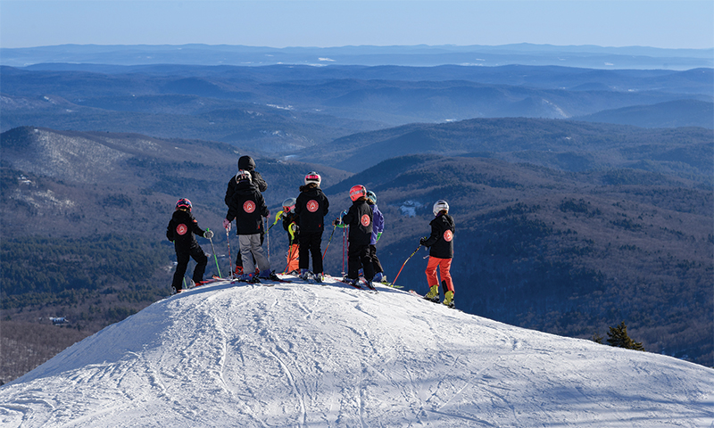 stratton mtn sports school kids