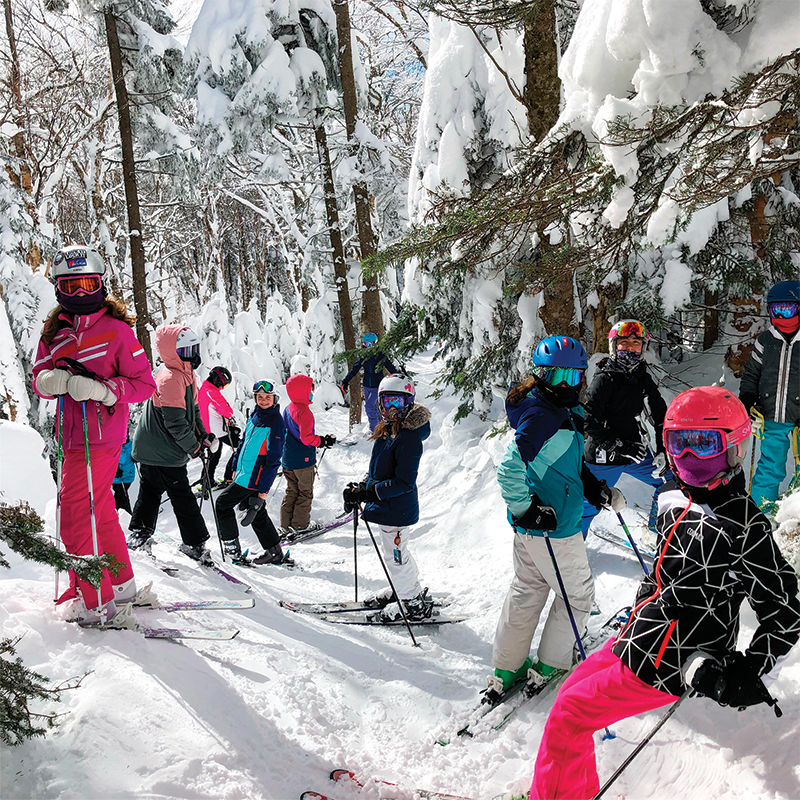 stratton mountain sports school kids