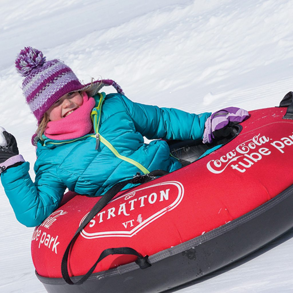 tubing at stratton mountain