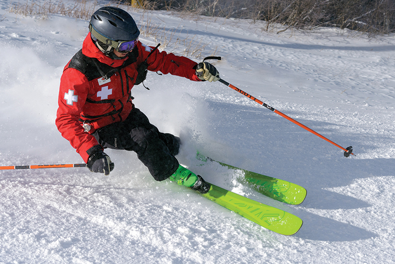 ski patrol at stratton mountain